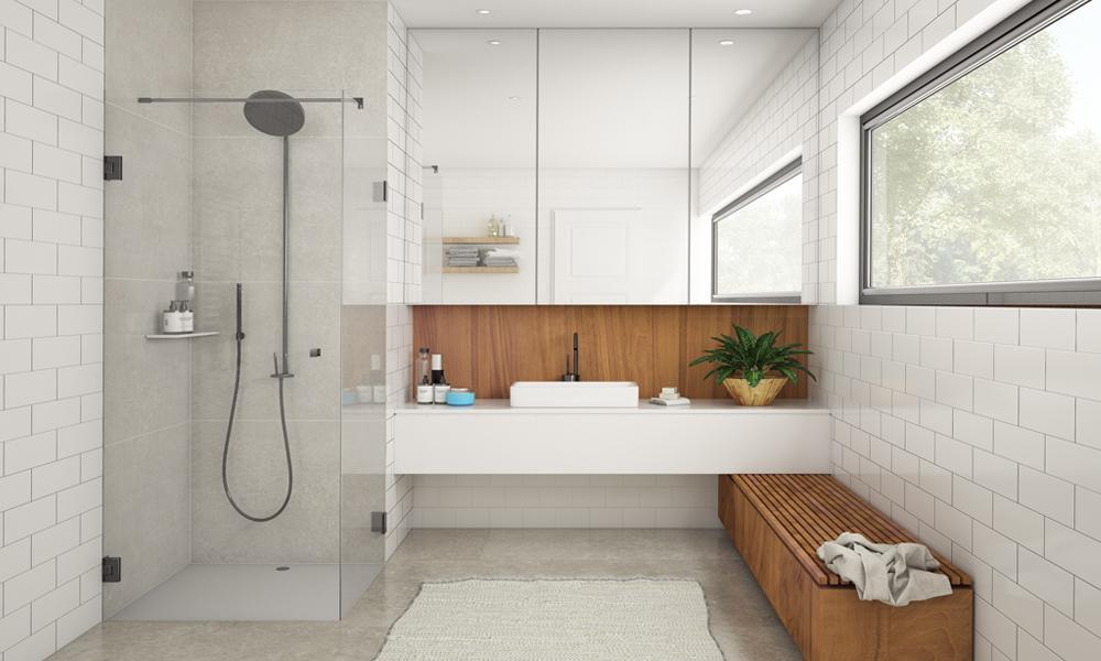 Glas im Badezimmer für Dusche & Co. vom Glaser aus Wedel ...