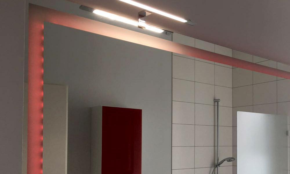 Spiegel Auf Mas : Led badspiegel nova spiegel nach maß mit beleuchtung wandspiegel